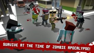 Cube Z (Pixel Zombies) Android Gameplay screenshot 5