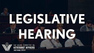 2019-09-11  Subcommittee on Health Legislative Hearing