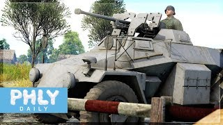 SQUEEZE BORE | High PEN High VELOCITY (War Thunder Sd.kfz.221 (s.Pz.B.41)