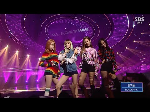 BLACKPINK - '휘파람(WHISTLE)' 0904 SBS Inkigayo