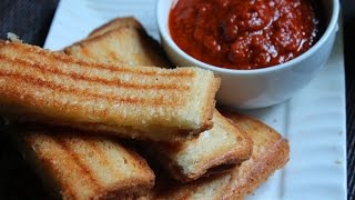 Grilled Cheese Sandwich with Tomato & Coriander Dipping Sauce Recipe