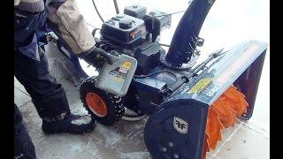 Замена масла и контроль ремней снегоуборщик BUFF 196ES(http://hotelfordog.pl.ua/ Ремонт и усовершенствования., 2017-01-09T20:57:30.000Z)
