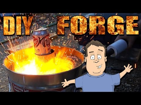 How to build a cheap DIY aluminum forge