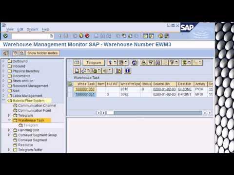 Blocking storage bins in EWM with an MFS telegram