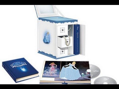 Unboxing of Cinderella Diamond Edition Bluray Trilogy Jewelry Box