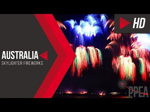 Australia's Skylighter Fireworks - The 8th Philippine International Pyromusical Competition