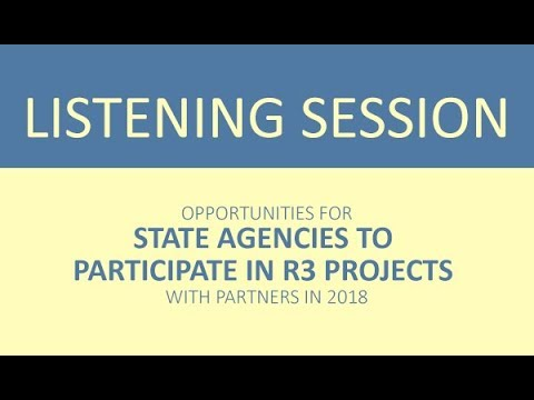 Opportunities for State Fish & Wildlife Agencies to Participate in R3 Projects in 2018