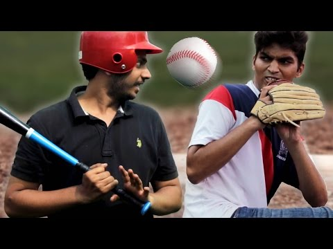 Indians Try Baseball For The First Time