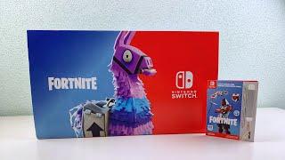 Nintendo Switch FORTNITE Double HELIX Bundle Unboxing + GIVEAWAY!!!