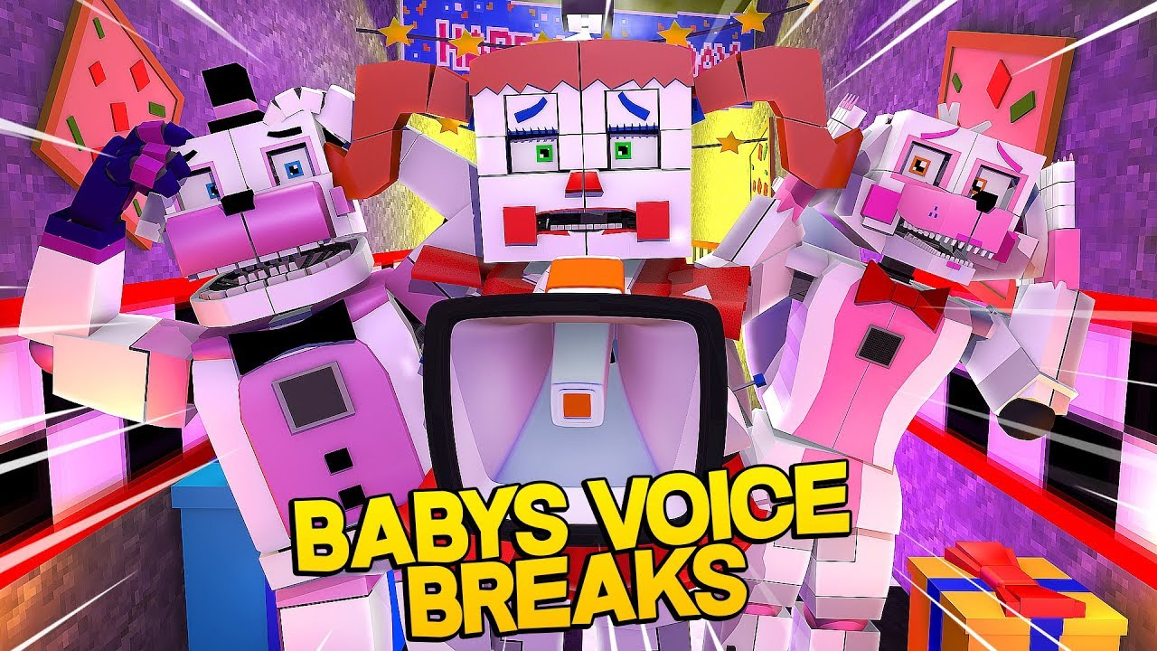 Minecraft Fnaf Sister Location Circus Babys Voice