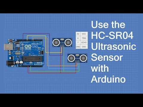 Using the HC-SR04 Ultrasonic Distance Sensor with Arduino -