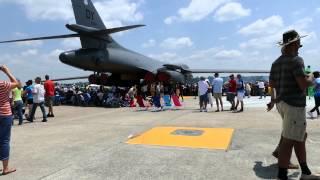 Wings over Wayne air show Seymour Johnson Air Force Base, Goldsboro NC, Stanley video.