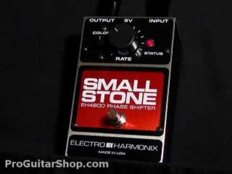 Electro Harmonix Small Stone Phaser Pedal