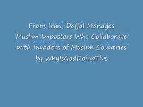 From Iran, Dajjal Manages Global Terrorism and Fake Muslim Organizations