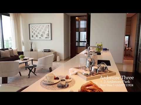 Ardmore Three Tour // Ken Wee // Singapore Luxury Condominium