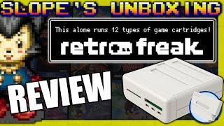 Retrofreak 12 in 1 console unboxing and review - SGR