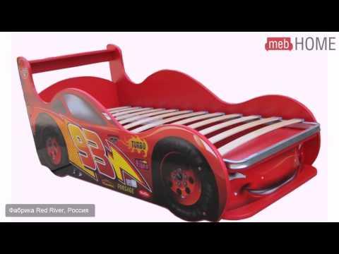 Кровать-машинка Red River Молния - Престиж 160