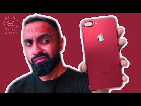 RED iPhone 7 Plus Unboxing