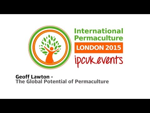 IPCUK 2015 Geoff Lawton International Permaculture Conference London
