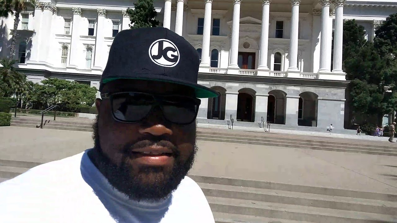 Jericho Green live from the steps of the California State Capitol!