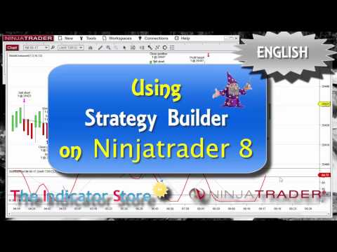Creating Strategies and Indicators with Ninjatrader 8 Strategy Builder