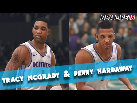 NBA Live 18 Ultimate Team - T-Mac and Penny Hardaway Debut! - Full Game Friday