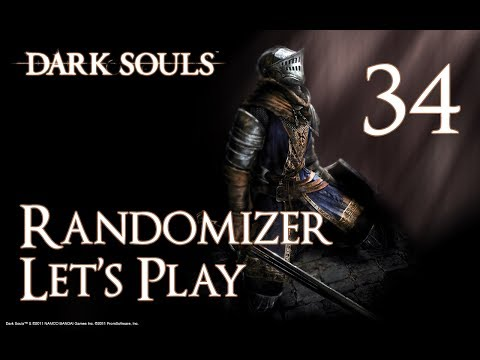 Dark Souls - Randomizer Let's Play Part 34: Journey in a Painting