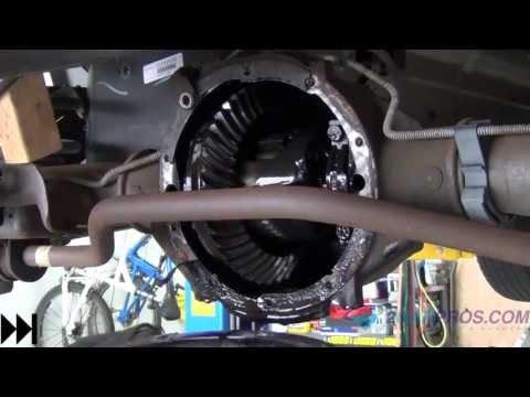 Rear Differential Service 1995-2013 Chevrolet Tahoe, Suburban, Silverado 1500.