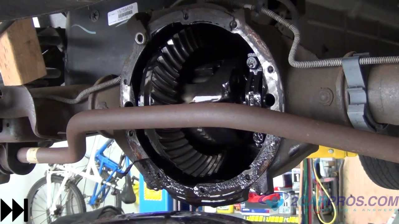 Rear Differential Service 19952013 Chevrolet Tahoe, Suburban, Silverado 1500  YouTube