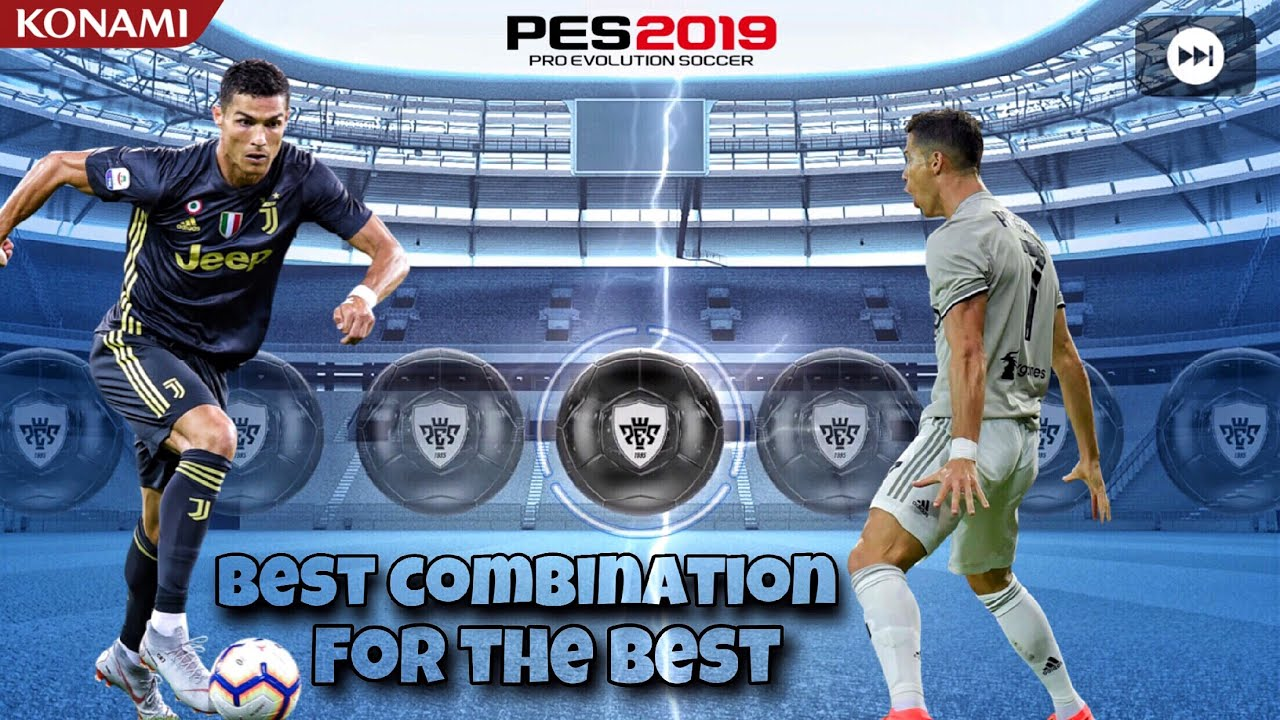 RONALDO Scouts Combination | Pes2019 mobile / Android_ ios