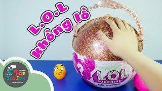 Mở banh L.O.L Surprise khổng lồ 50 bất ngờ ToyStation 172