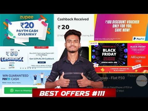 Black Friday Loot, Amazon Trick, Free Paytm Cash for All, Paypal Gift, Online Loot Offers !!