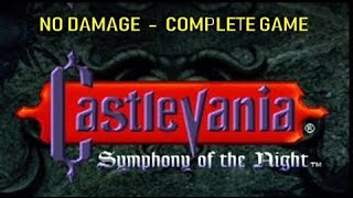 Castlevania Symphony of the Night (No Damage) 200% Full Map