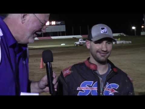 Trail-Way Speedway 358 Sprint Car Hard Charger 4-14-17