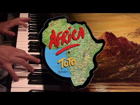 africa by toto but it's played at my grandma's house