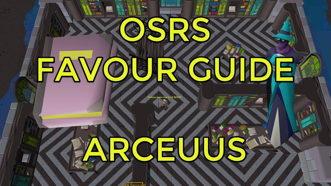 OSRS - Kourend Favour - Arceuus House