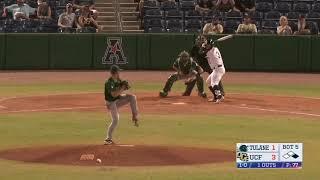 American Baseball Championship: No. 6 UCF 6, No. 3 Tulane 2
