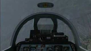 fsx f 86 saber take me to the clouds and back