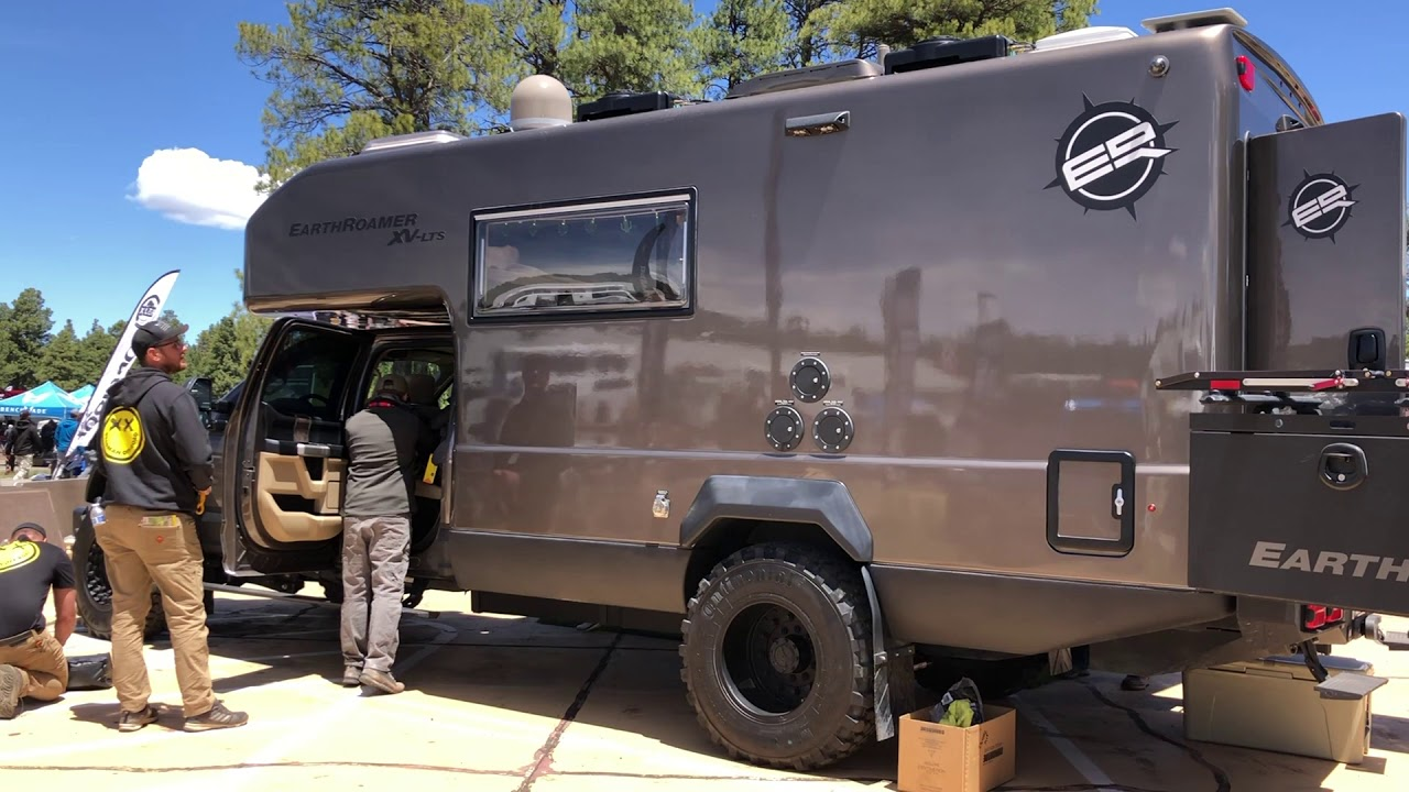 Overland Expo West >> EarthRoamer XV LTS 2019 Overland Expo West - YouTube