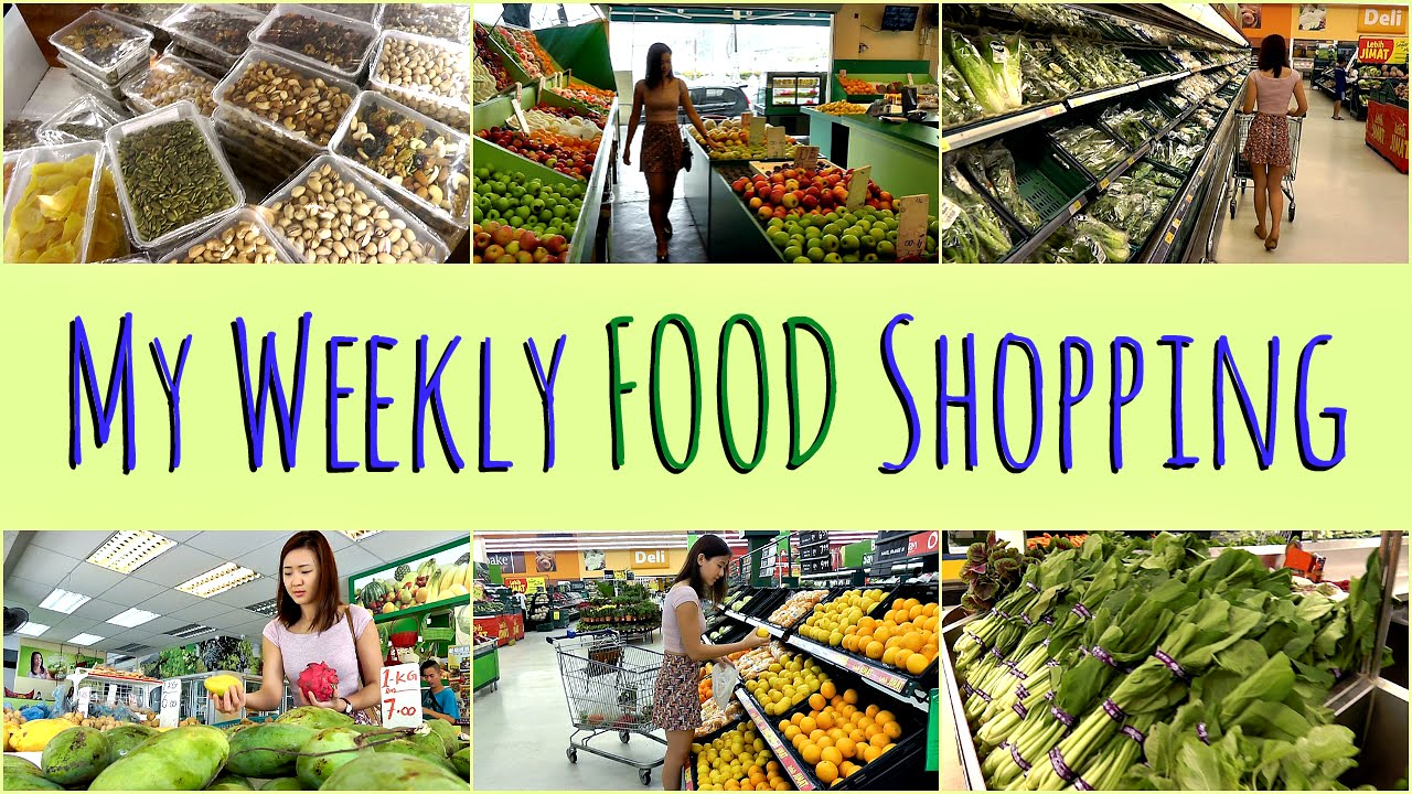 My weekly food shopping healthy grocery guide youtube for Shopping cuisine