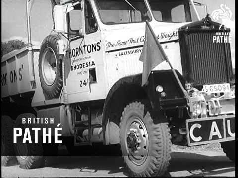 Kariba Dam Big Progress (1959)