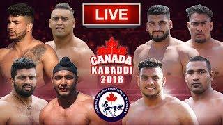 LIVE - CANADA KABADDI 2018 | NKAC Kabaddi Cup thumbnail