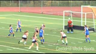 Girl's High School Varsity Field Hockey: Bedford Bulldogs Vs Winnacunnet  (10/04/13)