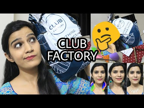 ✔️ CLUB FACTORY HAUL | ONLY FAIR PRICE??? | HOW TO SHOP ?? | CHEAP RATES