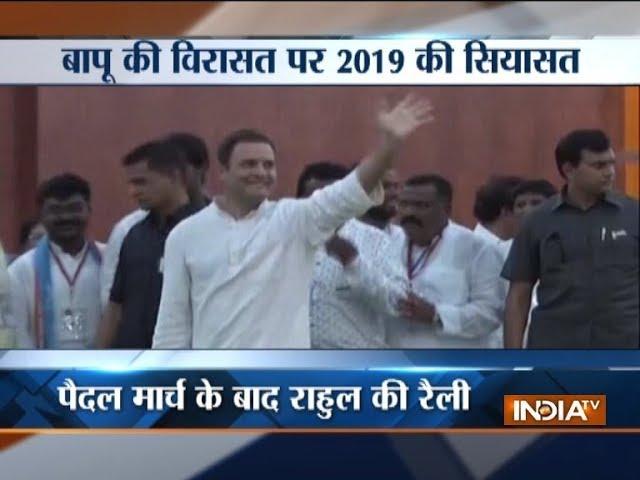 Maharashtra: Rahul Gandhi to lead CWC meet in Wardha today