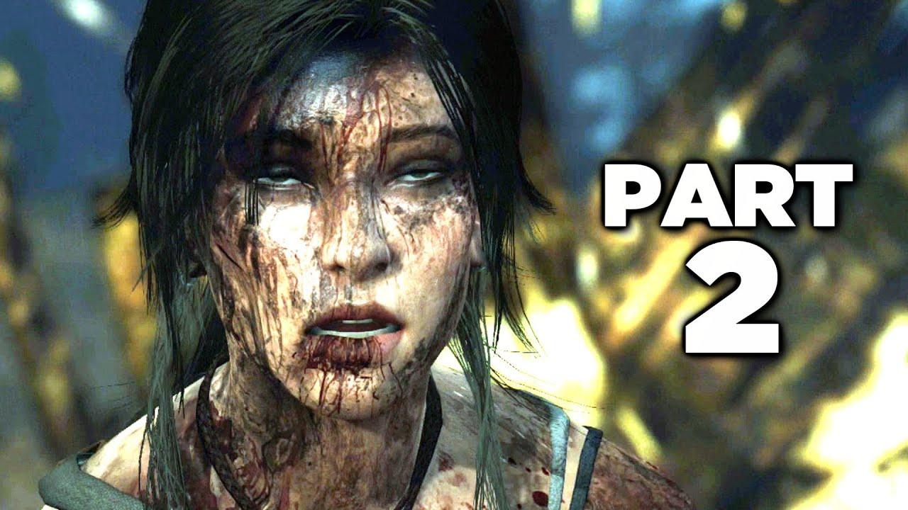 Tomb Raider Definitive Edition Gameplay Walkthrough Part 2 Ps4