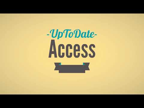 How To Get FREE ACCESS To UpToDate