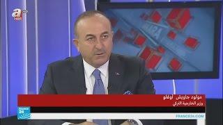 ماذا قال وزير الخارجية التركي عن اتفاق وقف إطلاق النار في سوريا؟