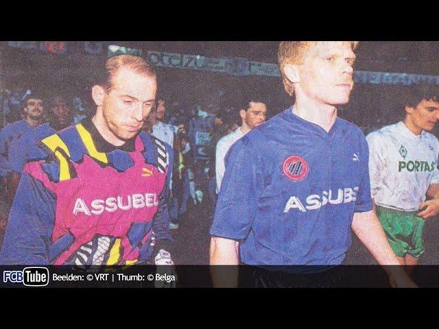 1991-1992 - UEFA-Cup - 08. Halve Finale - Werder Bremen - Club Brugge 2-0
