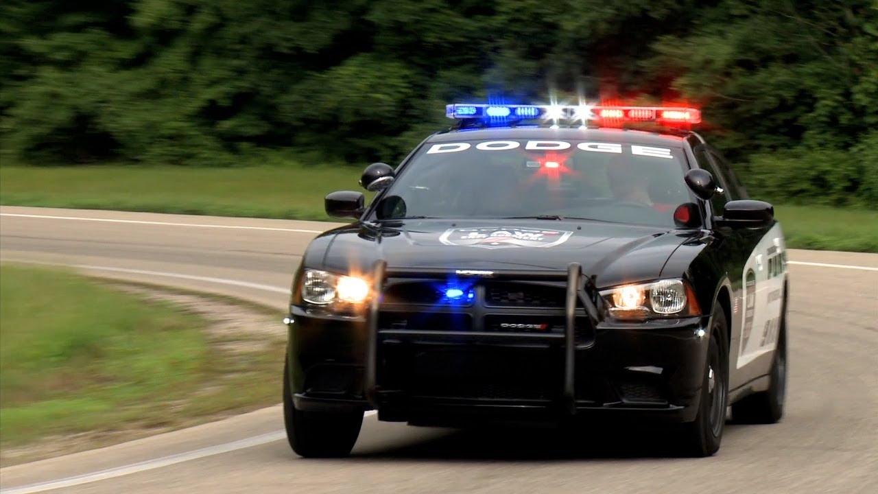Police Car Lights Wallpaper 2014 Dodge Charger Pursuit Police Car Youtube